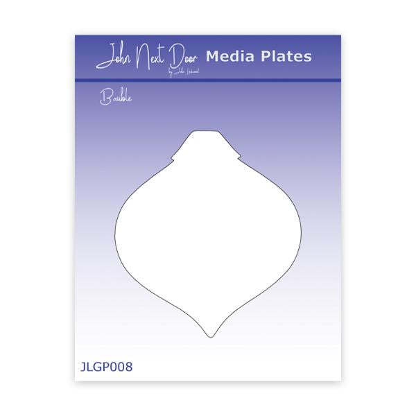 John Next Door Media Plate - Bauble