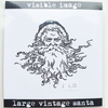Visible Image Stamp - Large Vntage Santa