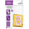 Crafter's Companion - Layering Floral Stencil - Delicate Dasies
