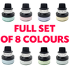 Cosmic Shimmer - Matt Chalk Polish - Full Set Of 8 - 10% OFF
