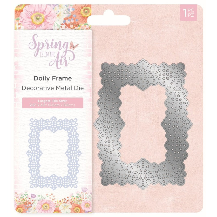 Nature's Garden - Spring Is In The Air - Metal Die - Doily Frame