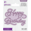 Gemini Die by Crafters Companion - Expressions - Happy Birthday