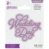 Gemini Die by Crafters Companion - Expressions - Wedding Day
