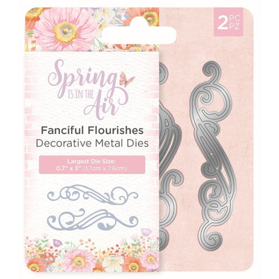 Nature's Garden - Spring Is In The Air - Metal Die - Fanciful Flourishes
