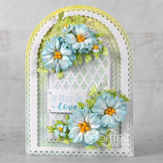 Heartfelt Creations - Eyelet Frame Gateway Die -  HCD2-7340