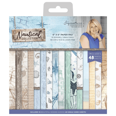 Sara Signature Collection - Nautical - 6 x 6 Paper Pad