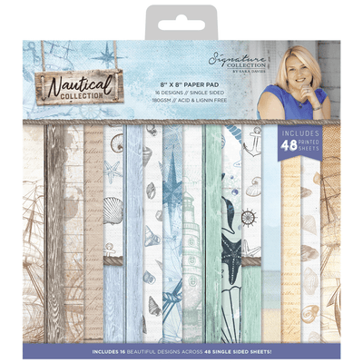 Sara Signature Collection - Nautical - 8 x 8 Paper Pad