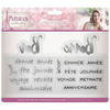 Sara Signature Collection - Parisian - Stamp & Die - French Sayings