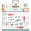 Nitwit Pawsitivity - Clear Acrylic Stamp Set