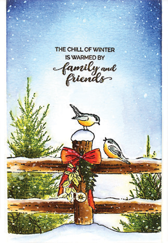 Penny Black Stamps - Winter Chill - 30-627