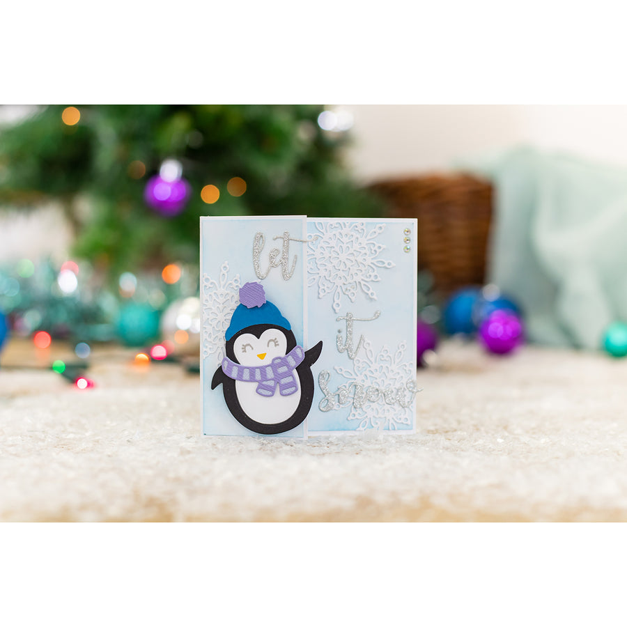 Gemini by Crafters Companion - Stamp & Die - Christmas Penguin