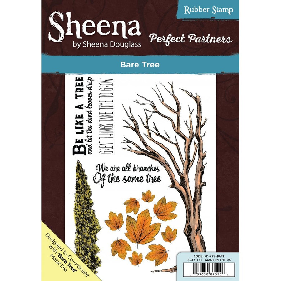 Sheena Douglass - Perfect Partners - A5 Stamp - Bare Tree