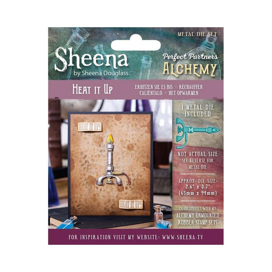 Sheena Douglass Perfect Partner Alchemy Dies by Crafters Companion - Heat It Up