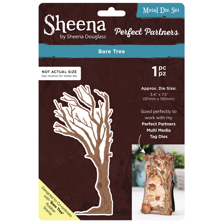 Sheena Douglass - Perfect Partners - Metal Die - Bare Tree