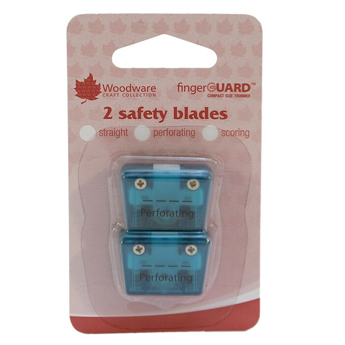 Woodware Mini Trimmer Replacement Blades - Perforating