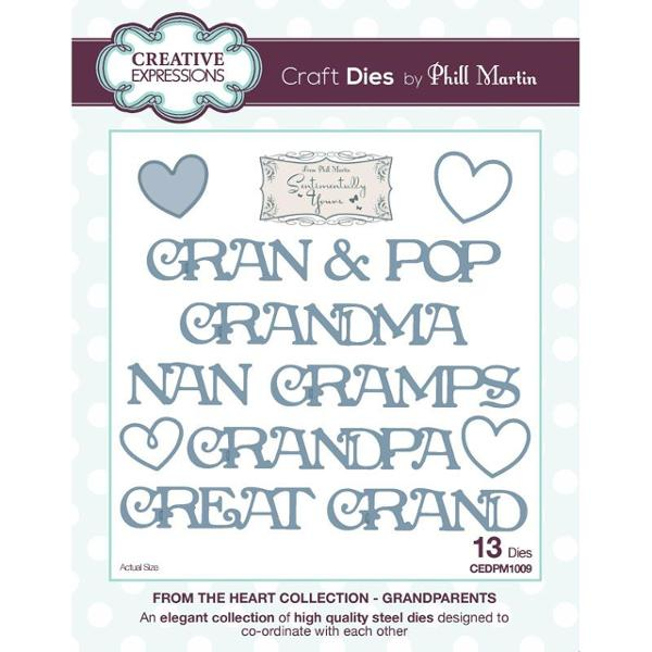 Phill Martin From the Heart Collection: Grandparents Die