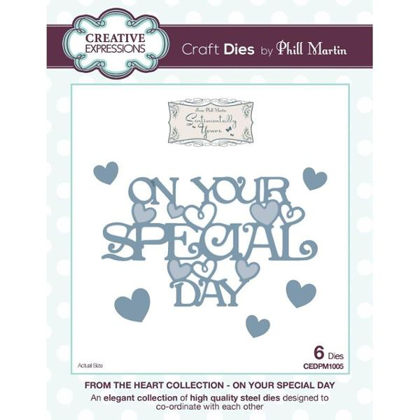 Phill Martin From the Heart Collection: On Your Special Day Die