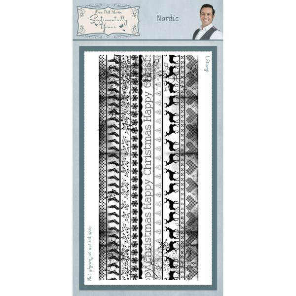 Phill Martin Nordic Pre Cut Stamp Set
