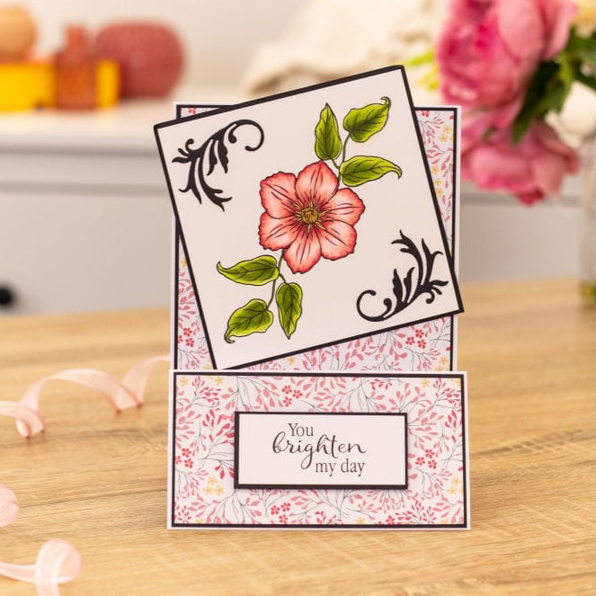 Crafters Companion - Photopolymer Stamp - Brighten My Day