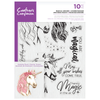 Crafters Companion Gemini - Photopolymer Stamp - Magical Unicorn