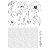 Poppy - A5 Stamp Set By Pink Frog Crafts