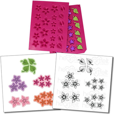 Heartfelt Creations - Perfect Posies - Stamp, Die & Mold Bundle
