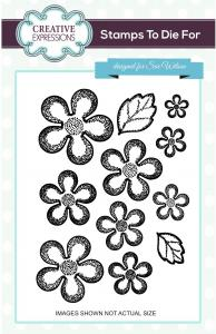 Sue Wilson Stamps To Die For - Emmas - Camellia Stamp (UMS681)