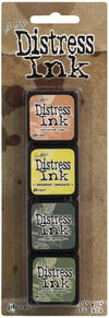 Ranger - Tim Holtz Distress Mini Ink Pads Kit 10