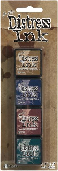 Ranger - Tim Holtz Distress Mini Ink Pads Kit 12