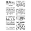 Crafters Companion - Clear Acrylic Stamps - Believe in the Magic
