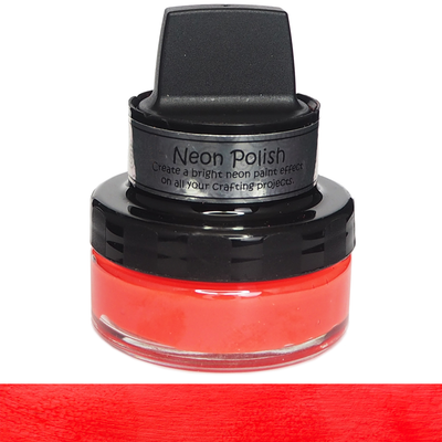 Cosmic Shimmer - Neon Polish - Rio Red 50ml