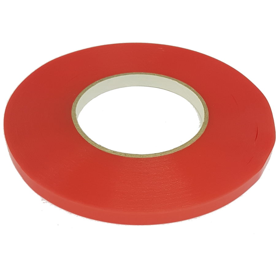 Red Liner Double-Sided Tape - 50m Length