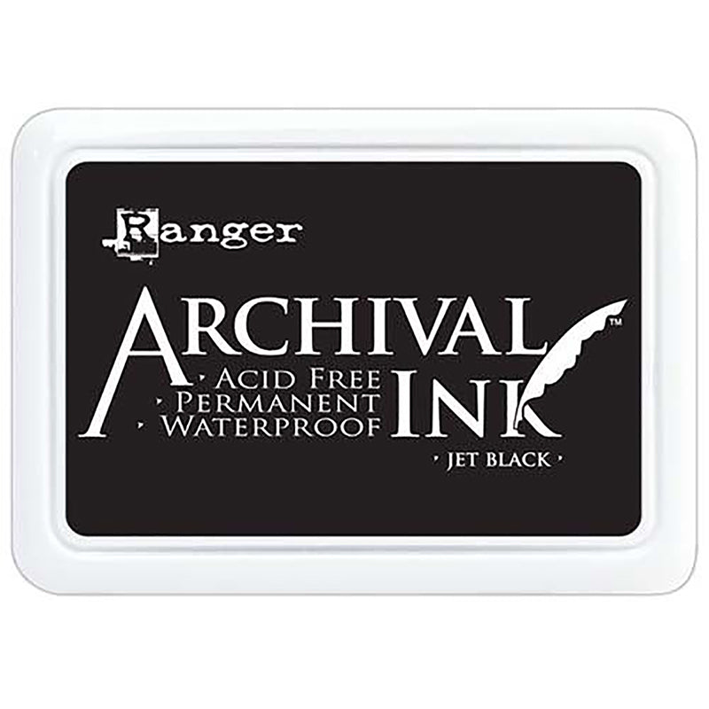 Ranger Archival Ink Pad - Black