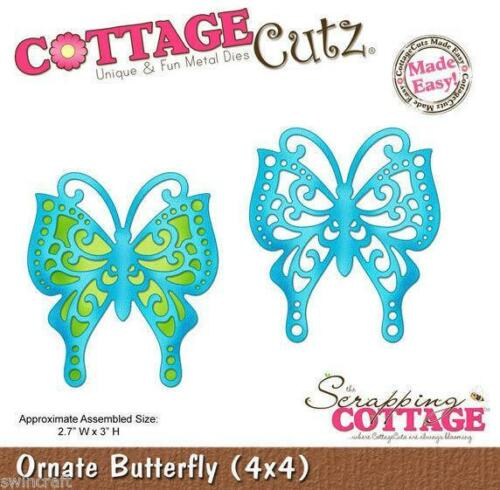Cottage Cutz Die - Ornate Butterfly - CC4x4-336