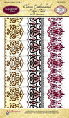 JustRite Cling Stamp - Classic Embroidered Edges Two (CR-03935)