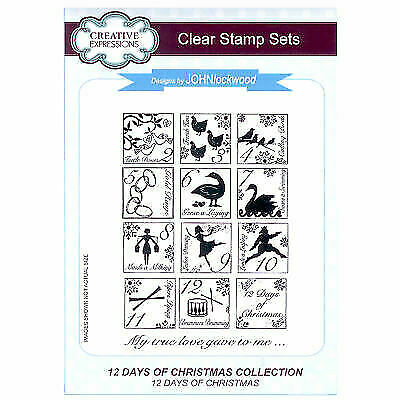 John Lockwood Stamp - Festive Collection - 12 Days of Christmas