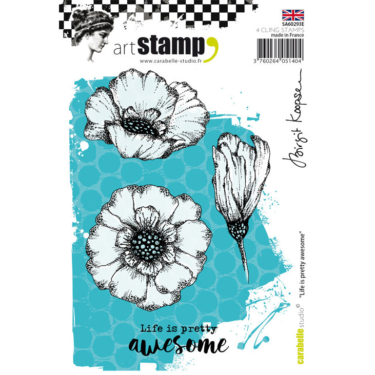 Carabelle Studio Stamps - Life Is Pretty Awesome