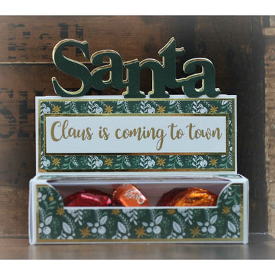 Gemini by Crafters Companion - Christmas Edgeables - Stamp & Die - Dear Santa