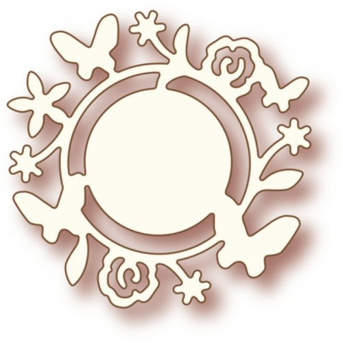 Wild Rose Studio Dies - Flower Circle - SD007