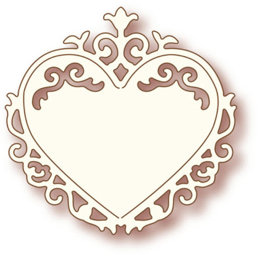 Wild Rose Studio Dies - Ornate Heart - SD006