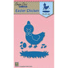 Nellie Snellen Shape Blue Dies - Easter Chicken