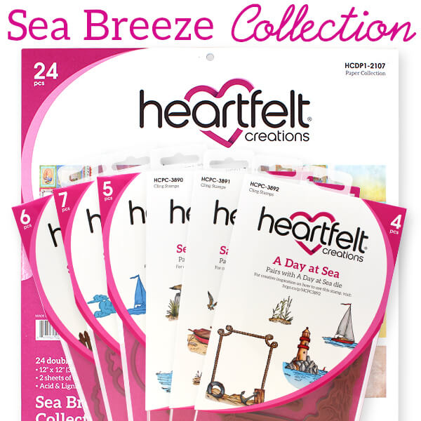 Heartfelt Creations - Sea Breeze I Want It All - IWIA-1115