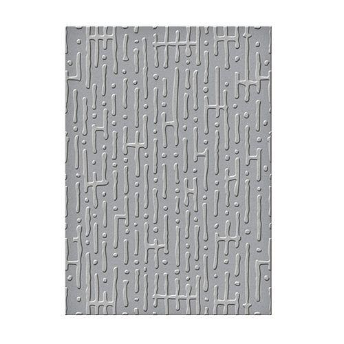 Seth Apter Embossing Folders Maze 5 x 7 in Single Sided