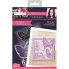 Sharon Callis Stamps & Dies - Arts n Flowers - Butterflies and Blooms - Butterfly Love
