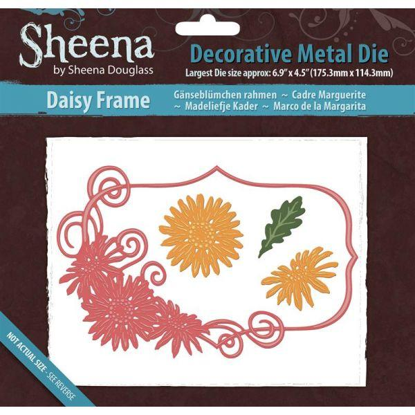 Sheena Douglass Metal Dies: Daisy Frame