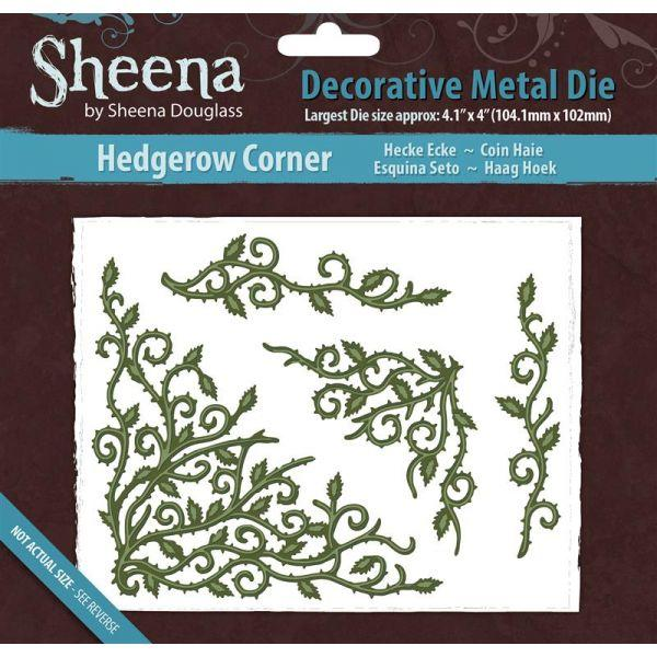 Sheena Douglass Metal Dies - Hedgerow Corner