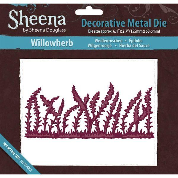 Sheena Douglass Metal Dies: Willowherb