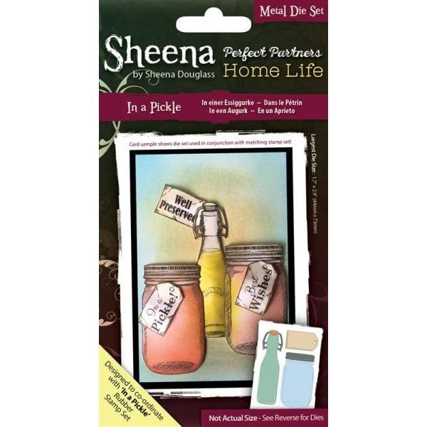 Sheena Douglass Perfect Partners Home Life - In a Pickle Thin Metal Die
