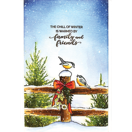 Penny Black Stamps - Winter Tales - 40-707