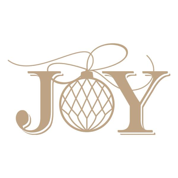 Spellbinders Glimmer Hot Foil Plate - Joy Holiday (GLP-049)